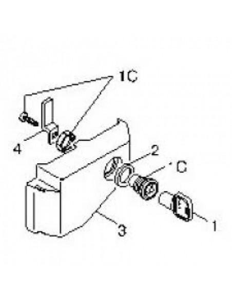 Trappe de déverrouillage pour moteurs BK CAME