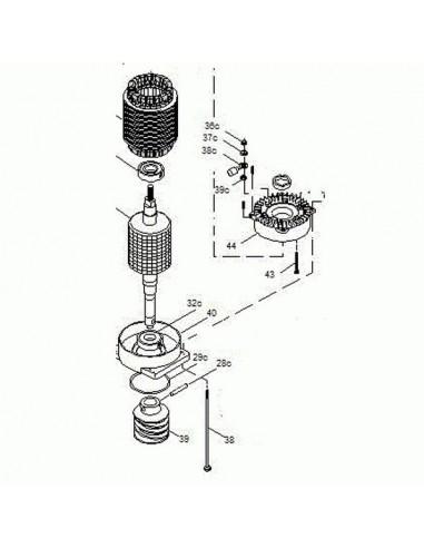 Groupe moteur CAME BK-1200P