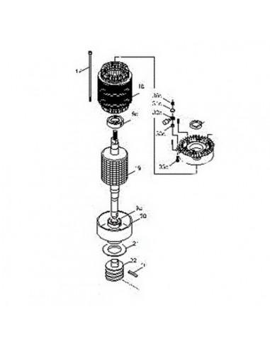 Groupe moteur CAME pour BX-P