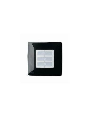 Plaque carrée noire OPLA WSB NICE