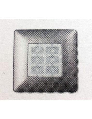 Plaque carrée aluminium OPLA WSA NICE