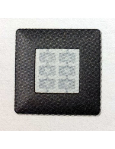 Plaque carrée graphite OPLA WSG NICE