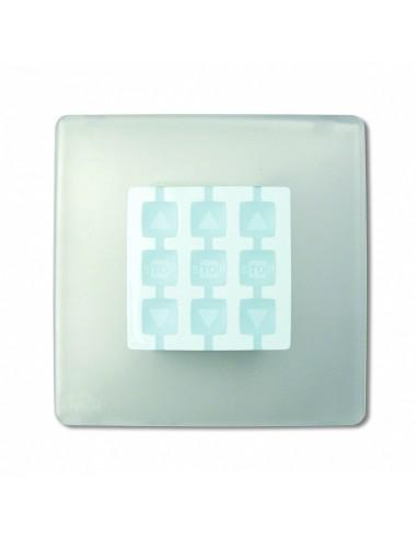 Plaque carrée transparente OPLA WST NICE