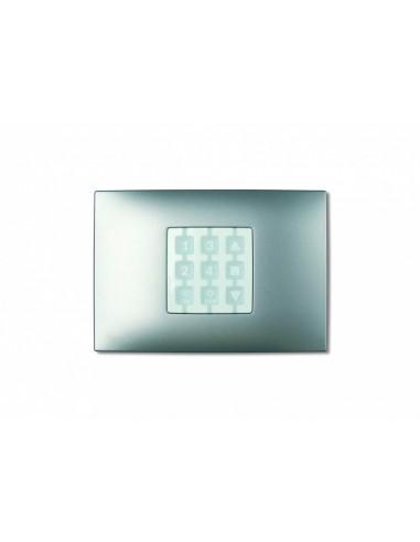 Plaque rectangulaire aluminium OPLA WRA NICE