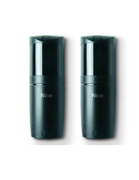 Paire de dispositifs optiques associés à des bords sensibles NICE