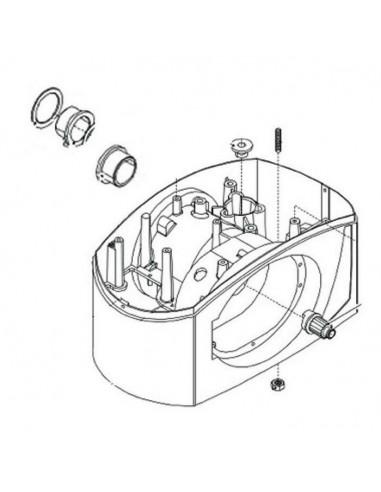 Caisse motoréducteur pour BX-243 CAME