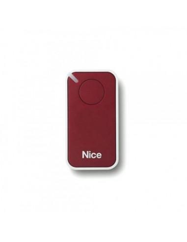 Télécommande rouge INTI1R, 1 canal, 433.92 MHz