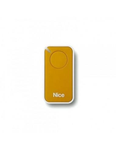 Télécommande jaune INTI1Y, 1 canal, 433.92 MHz
