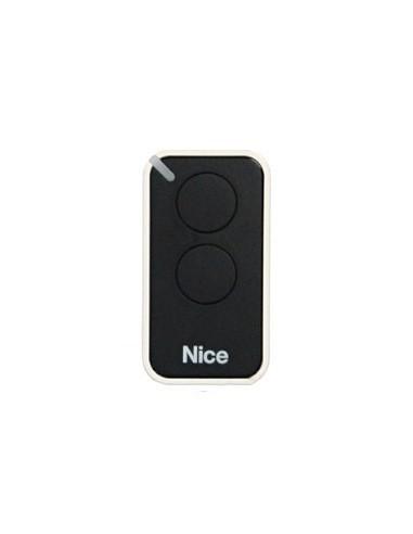 Télécommande noire INTI2, 2 canaux, 433.92 MHz