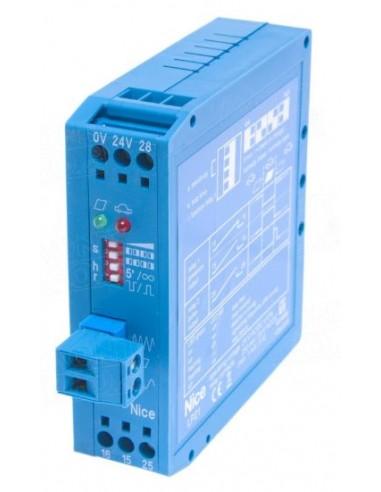Détecteur de masses métalliques monocanal 24 Volts NICE LP21