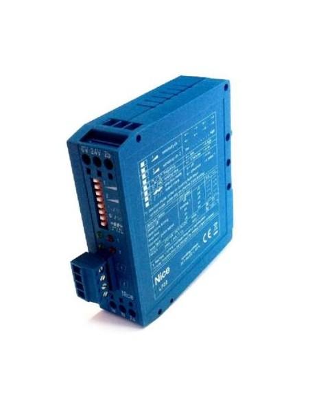 Détecteur de masses métalliques bicanal 24 Volts NICE LP22