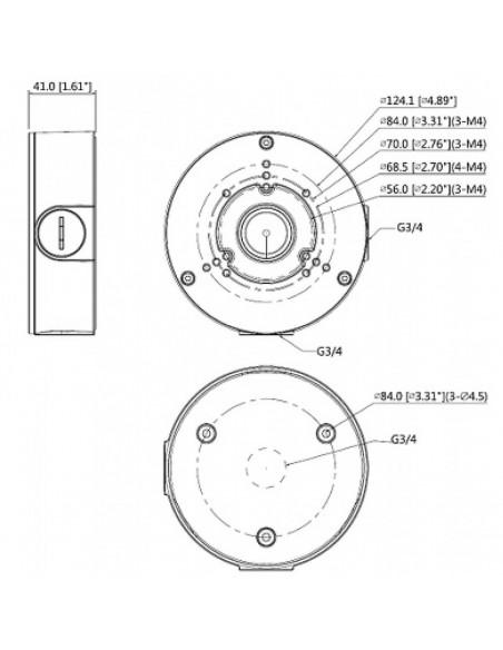 Boîtier de jonction étanche DAHUA PFA 130-E