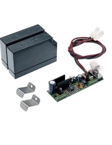 Systeme antipanique avec 2 batteries