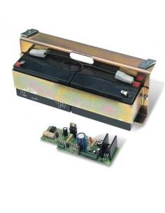Carte electronique pour branchement de 2 batteries de secours