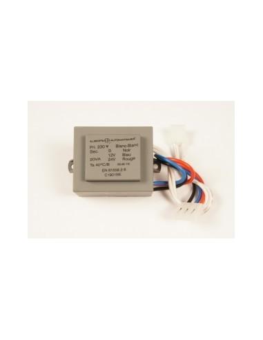 Transformateur 20 VA (2 connecteurs) 230 V EUROPE AUTOMATISMES