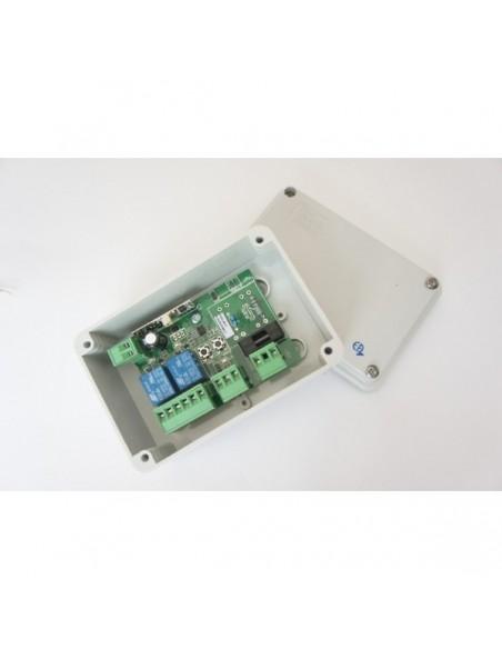 Récepteur autonome EA222, 2 fonctions, 230 V EUROPE AUTOMATISMES